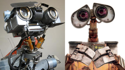 WALL-E e Johnny 5