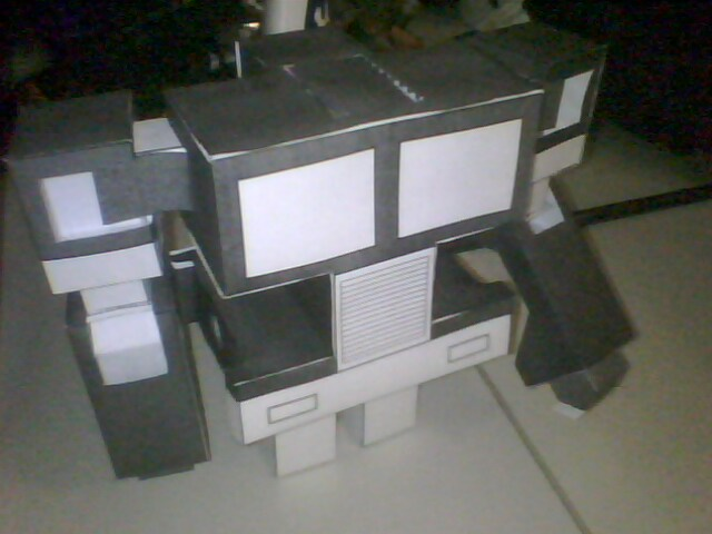 Paper Transformer: Optimus (prototype)