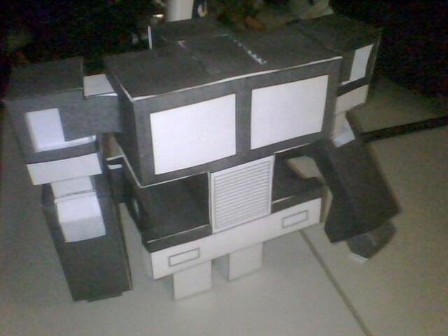 Paper Transformer: Optimus (prototype)